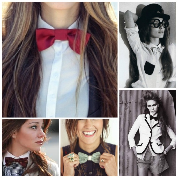 dear september: girls in bow ties are cool