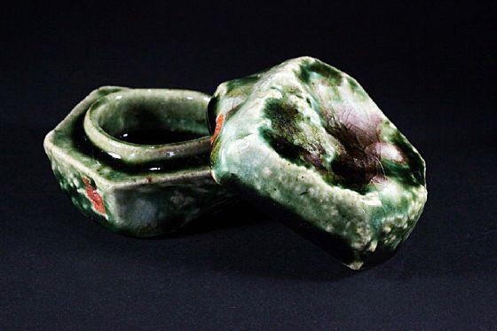 Osamu InayoshiTeas Ceremonies, Work Oribe, Ceramics Teas, Beautiful Pottery, Inspiration Ceramics, Discovery, Ceremonies Vessel, オサム, Osamu Inayoshi