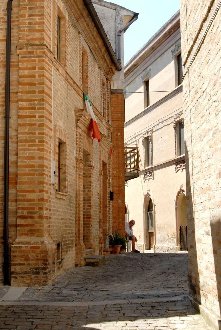 Frazione Torchiaro, scorcio del centro storico  #marcafermana #ponzanodifermo #fermo #marche
