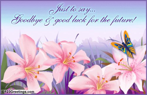 Best of Luck Quotes For Farewell
