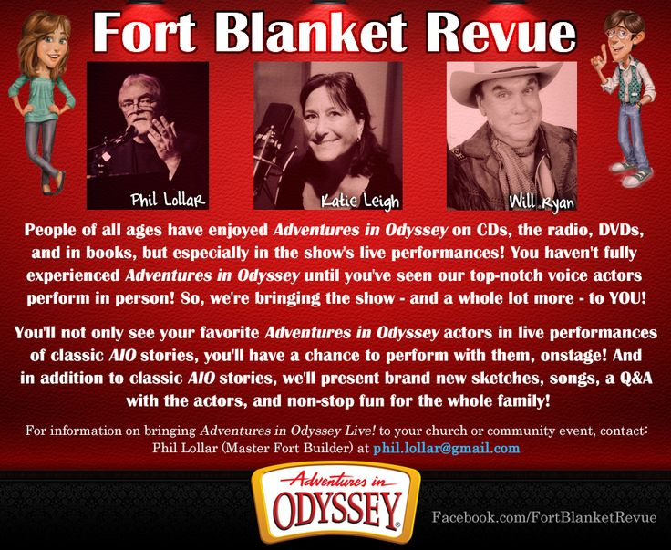 Fort Blanket Revue Is Katie Leigh Connie Kendall Will
