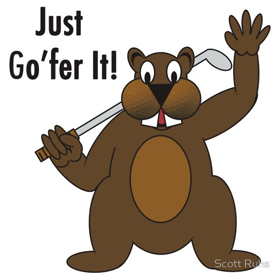 Gopher Golfer - Just Gofer It!
