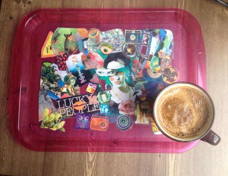A personal favorite from my Etsy shop https://www.etsy.com/listing/152865264/serving-tray-pop-and-colorful-in-fuchsia