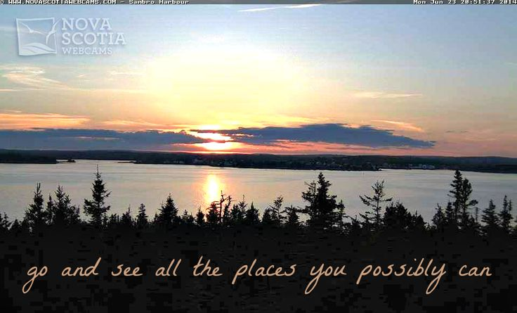 http://www.novascotiawebcams.com/en/webcams/sambro-harbour/ #Sambro #NovaScotia #Quote