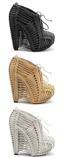 caged booties #shoes
