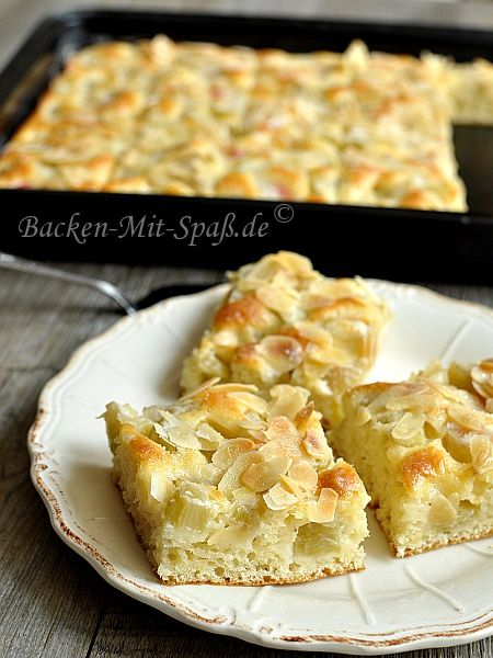Rhabarber-Buttermilchkuchen