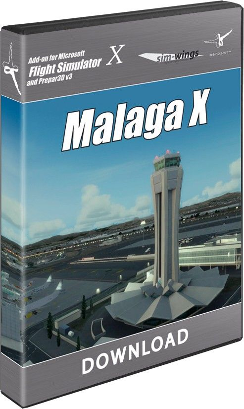 AEROSOFT : Malaga X The Airport Malaga - Costa del Sol is the