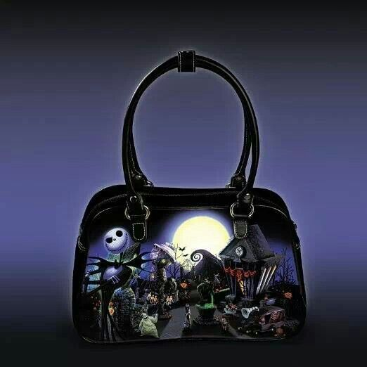 Nightmare Before Christmas purse.. It even glows in the dark!