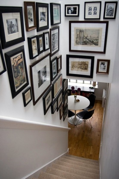 Photo hanging ideas