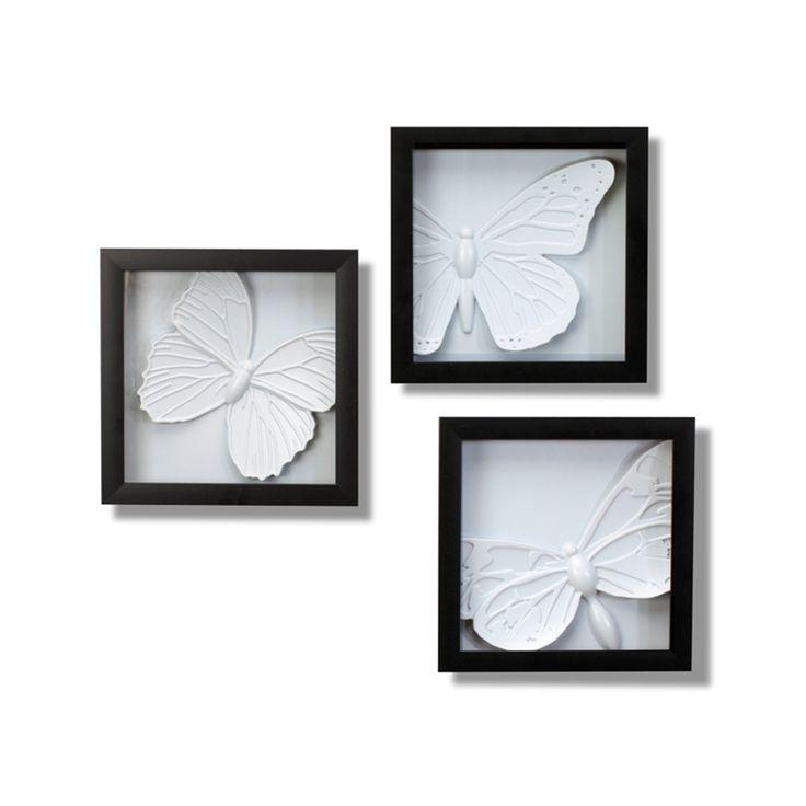 Umbra Wall Decor Butterflies : Ideas about butterfly wall decor on