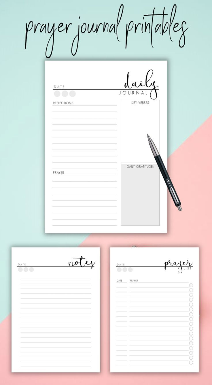Click Here For Prayer Journaling And Daily Bible Study Printables Prayer Journaling Planner Prayer Journal Printable Bible Study Notes Bible Study Printables