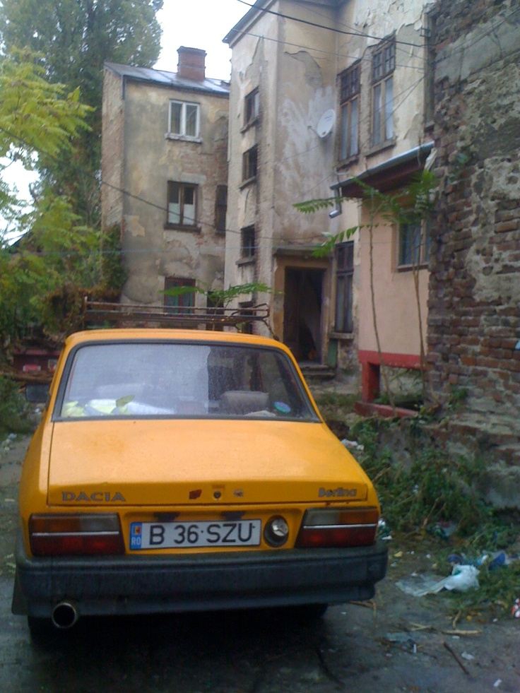 Dacia Car in Bucharest, Romania