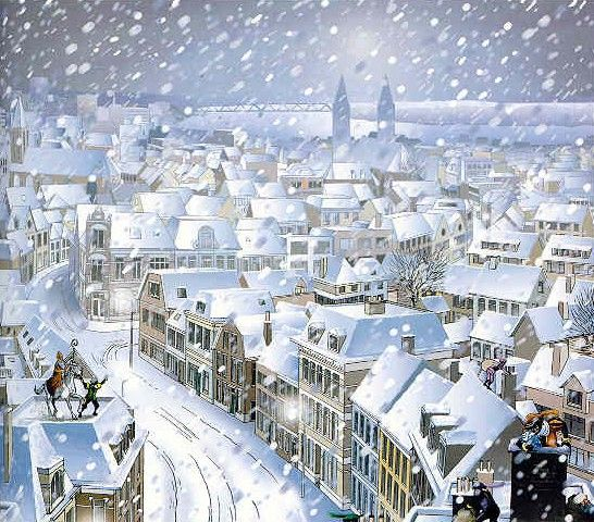 I love this Sinterklaas print