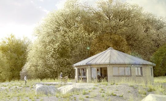 cercle nature la maison bois naturel construction en bois pinterest nature. Black Bedroom Furniture Sets. Home Design Ideas