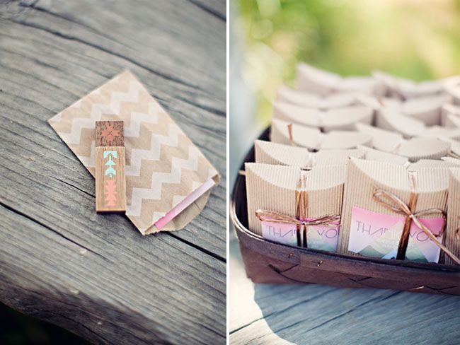 Pillow Box favors