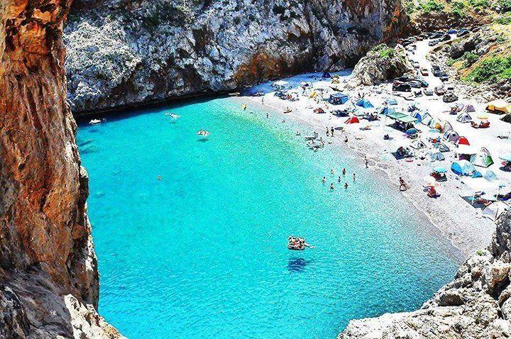 VISIT GREECE| Vythouri beach in Evia | #visitgreece #evia