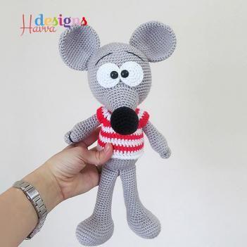 Cute Mouse amigurumi pattern by Havva Designs