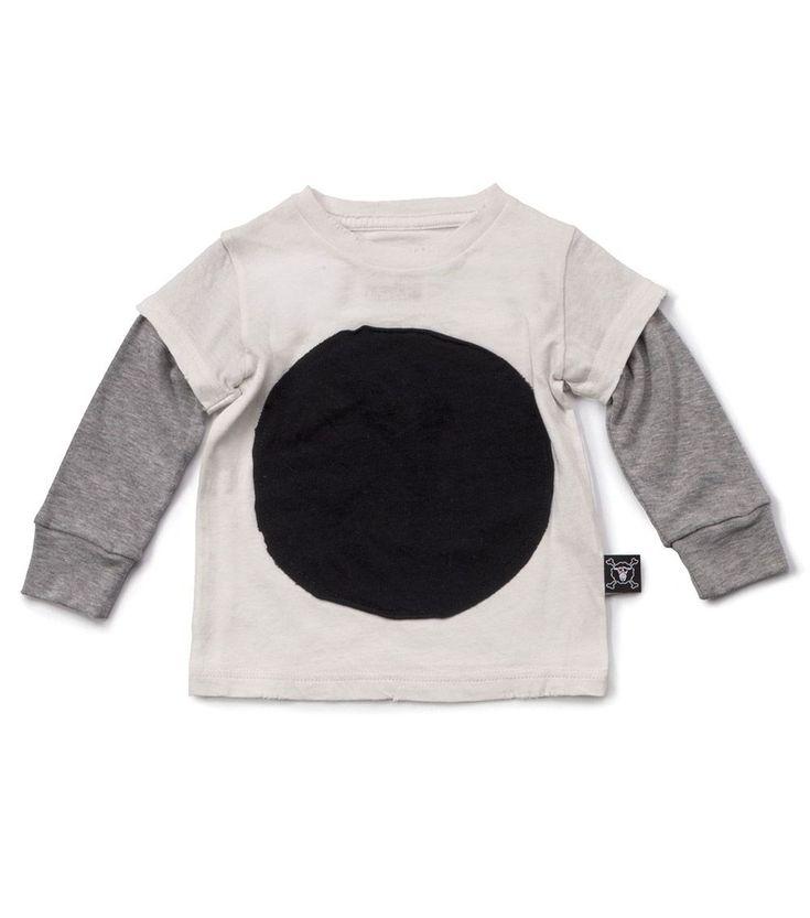 Our Brands :: Nununu :: Circle Patch T-Shirt White -