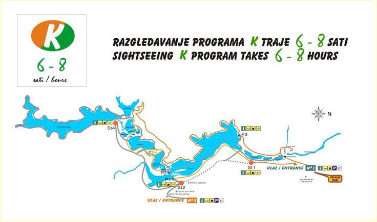 Plitvicei-tavak K útvonal 1. bejárat