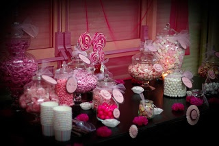 Pink lolly buffet