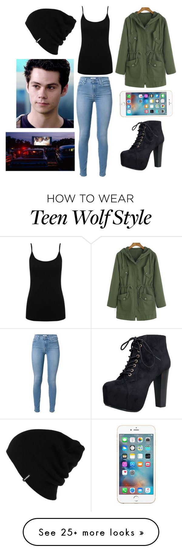 """""""Drive In Movies With Stiles (Teen Wolf)"""" by magcon-1994 on Polyvore featuring M&Co, Speed Limit 98, Patagonia, women's clothing, women's fashion, women, female, woman, misses and juniors"""