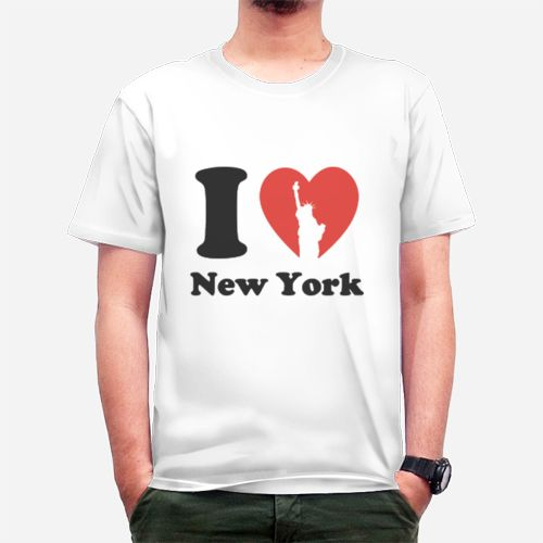 I Love New York dari Tees.co.id oleh Seventeen