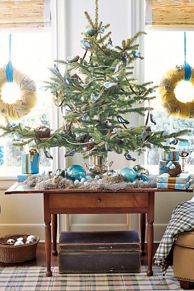 25 Beautiful Christmas Mini Tree Ideas On The Table Best Christmas Tree Decorations Cool Christmas Trees Mini Christmas Tree Decorations