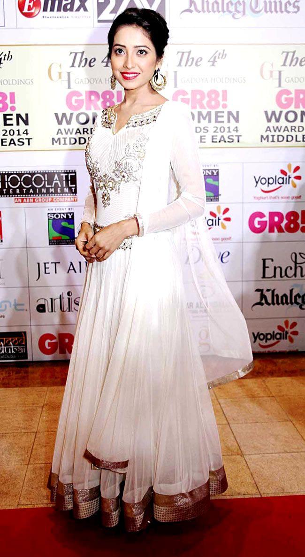 Asha Negi at the 4th GR8! Women Awards 2014.