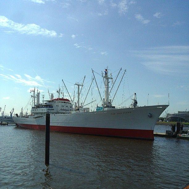 Museumsschiff Cap San Diego in Hamburg, Hamburg