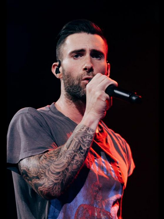 I know this look. I've seen it in person and this picture looks so real. Adam Levine