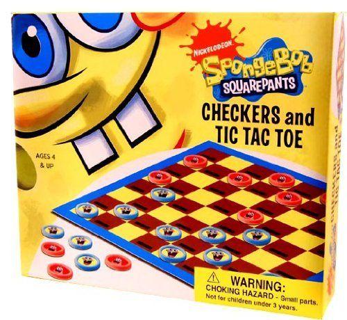 Nickelodeon Checkers & Tic Tac Toe Game Spongebob by Cardinal, http://www.amazon.com/dp/B0031APSXA/ref=cm_sw_r_pi_dp_Cw8msb0HMFTXJ
