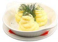 Картофельное пюре с сыром и сливками