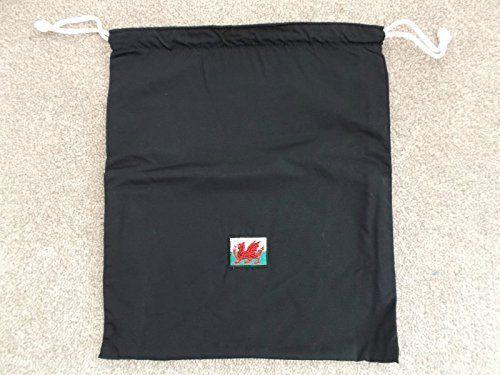 UK Golf Gear - Welsh Flag Branded Golf Shoe Bag *New* #golfshoes