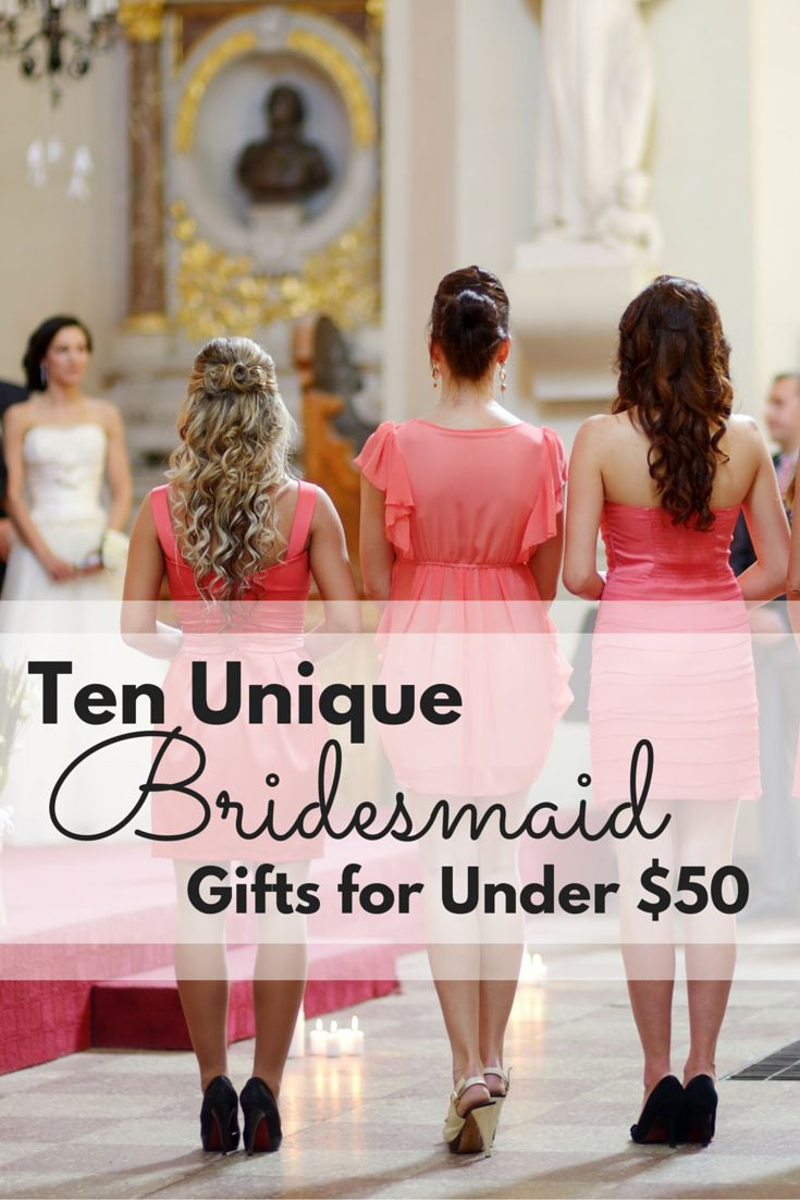 10 great ways to spoil your bridesmaids without breaking the bank!
