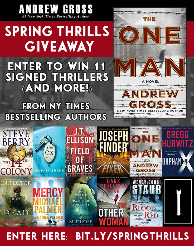 Win 11 Signed Thriller Novels PLUS a Brand New Kindle Fire!