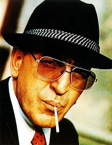 Telly Savalas - Kojak.  DIE!  Love him.