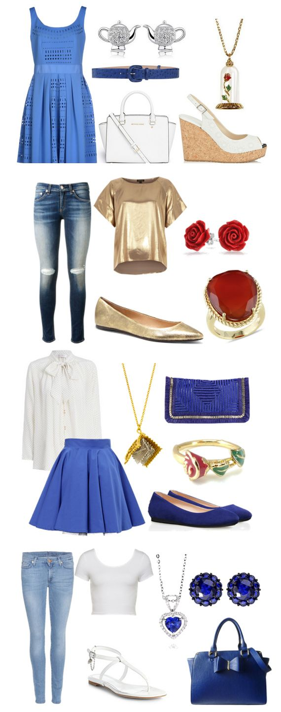 Disney Inspired Outfits Belle Belle Inspired Summer ...