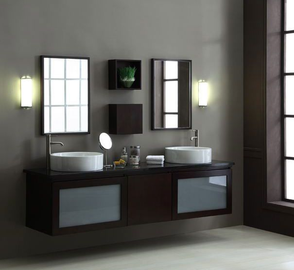 Prefabricated Bathroom Countertops: 21 Best Floating Bathroom Vanities Images On Pinterest