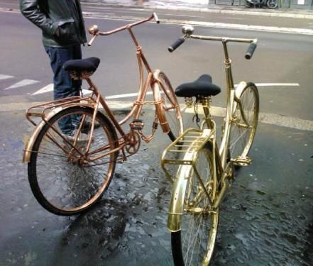 shiny bikes with bells, bring your own whistle!
