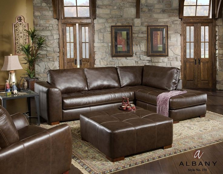 14 best Leather Sectional images on Pinterest