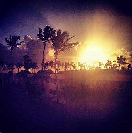 Does a #sunset get any better than this? Incredible view at #NowLarimar in Punta Cana!