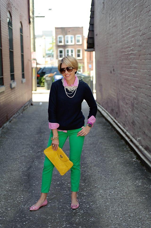 Style Spotting: Beth from Seersucker   Saddles