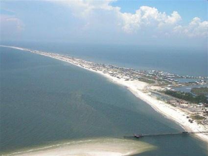 Dauphin Island, Alabama  walk for hours and never see a soul!!!!