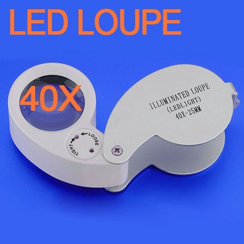 amazones gadgets J, 40x 25mm Jewelers Loupe Magnifier Magnifying Eye Glass: Bid: 16,21€ Buynow Price 15,40€ Remaining 08 dias 04 hrs Great…