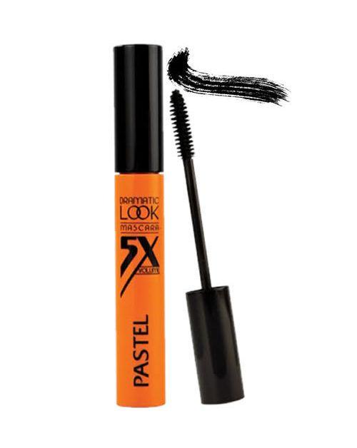 Pastel Dramatic Look Mascara 5X Volume Rimel  Daha gür kirpikler, dramatik görünüm, çarpıcı hacim.  Özel formülü ve kıl fırçası sayesinde kirpikler mükemmel ve gür gösterir. Kirpiklerinizi her katta daha da hacimlendiren ve kökünden ucuna kusursuzca kaplayan formülü sayesinde, pratik ve hızlı bir şekilde uygular. Siyah ve mavi olmak üzere iki farklı renklerde satılmaktadır.