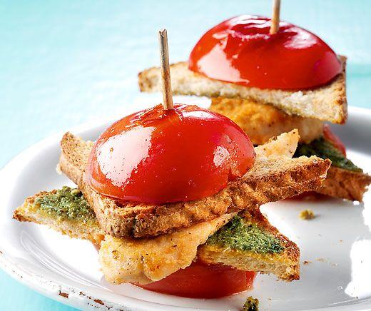 Tomaten-Doppeldecker