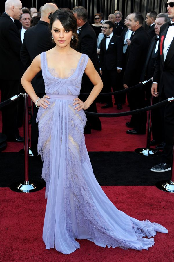 Mila Kunis, 2011  Fact: We still fantasize about this lilac-hued Elie Saab gown.