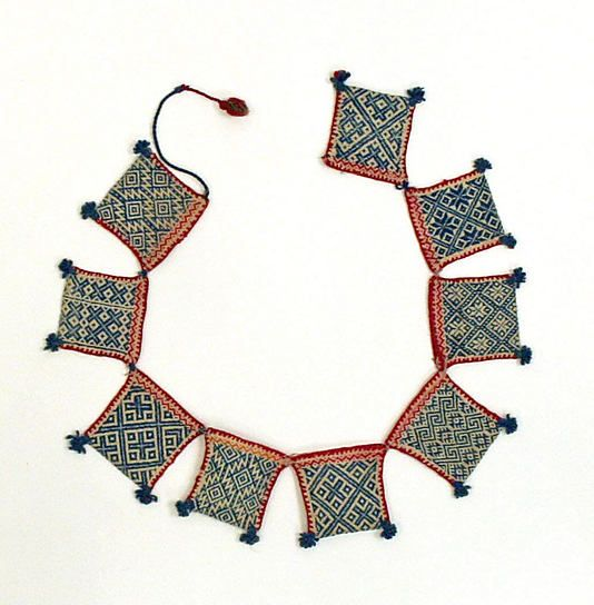 Bag Date: 1800–1945 Culture: Mexican (Huichol peoples) Medium: cotton