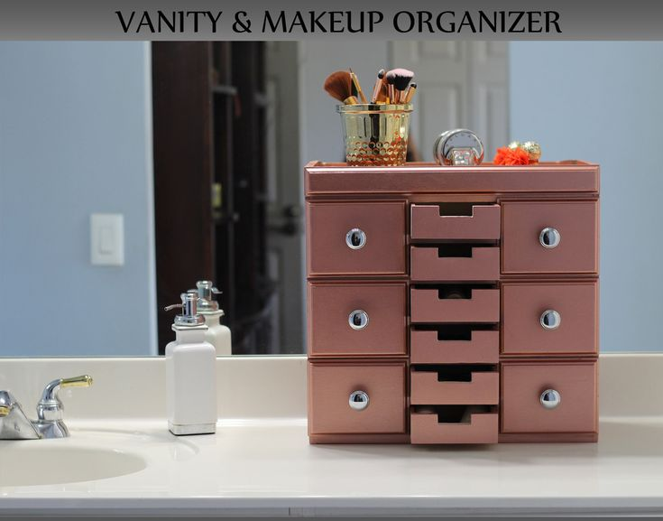 Excited to share the latest addition to my #etsy shop: Makeup Organizer, Vanity Organizer, Makeup Brushes, Bathroom Organizer, Nail Polish Organizer, Lipstick, Cosmetic Organizer, Gift for her https://etsy.me/2Fc3ZlI