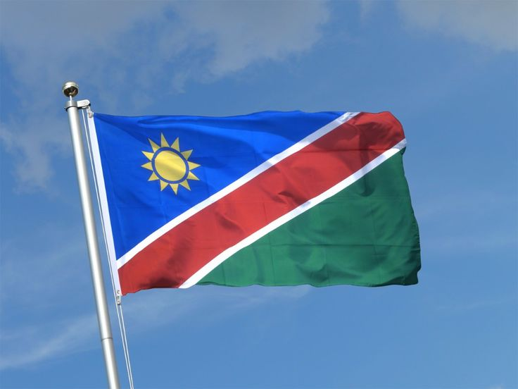 Namibia Flag 3x5 feet Namibian banner Hanging  Office Activity parade Festival Home Decoration New fashion